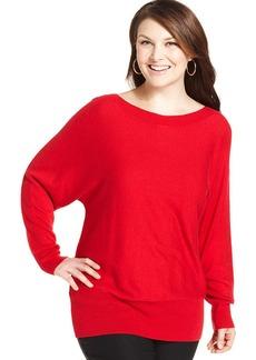 Alfani Dolman-Sleeve Boat-Neck Sweater
