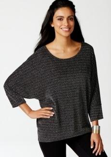 Alfani Dolman-Sleeve High-Low Hem Sweater, Only at Macy's
