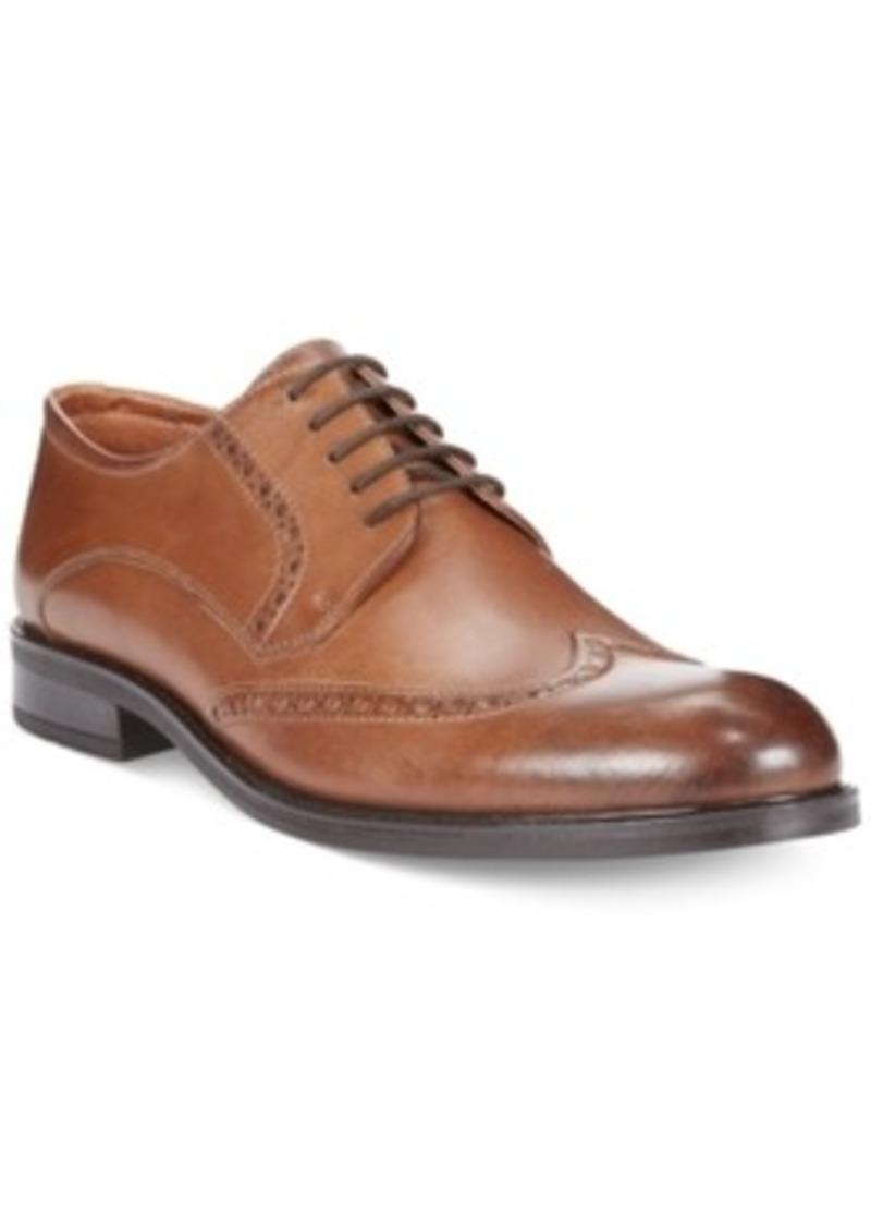 alfani alfani dorian wing tip oxfords s shoes shoes