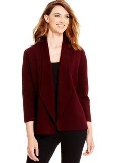 Alfani Draped Sweater-Knit Blazer, Only at Macy's