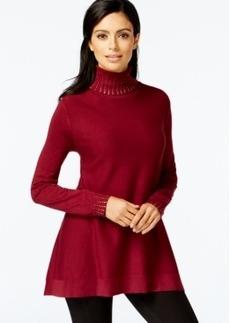 Alfani Embellished Turtleneck Sweater, Only at Macy's