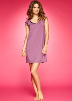 Alfani Essentials Cap Sleeve V-Neck Chemise