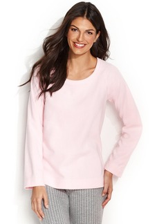 Alfani Fleece Raglan Top