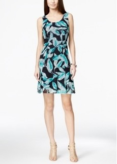 Alfani Floral Lace A-Line Dress, Only at Macy's