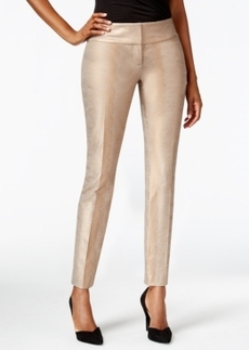 Alfani Foil-Print Slim Leg Pant, Only at Macy's