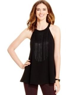 Alfani Fringed Halter Top, Only at Macy's