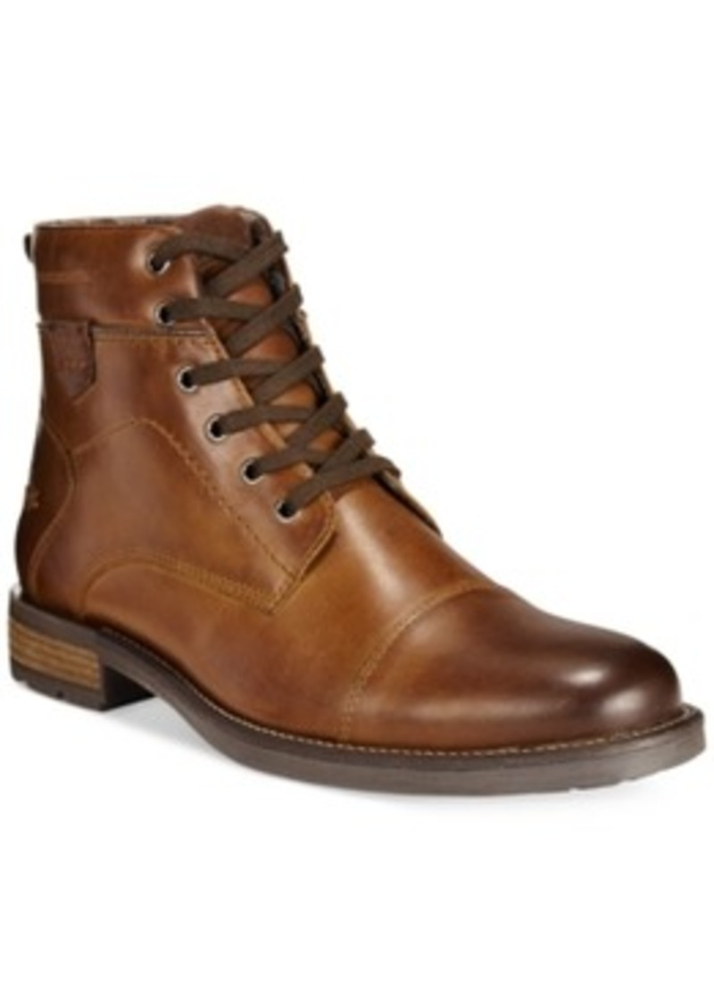 Jack Cap Toe Boots, Only at Macy39;s Men39;s Shoes  Shoes  Shop It