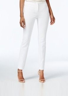 Alfani Jacquard Skinny Ankle Pants, Only at Macy's