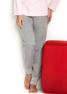 Alfani Jacquard Slim Pajama Pants