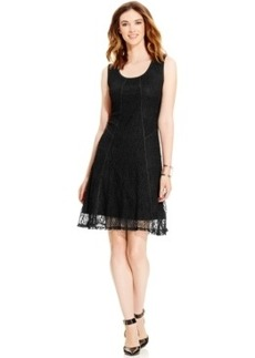 Alfani Lace A-Line Tank Dress, Only at Macy's