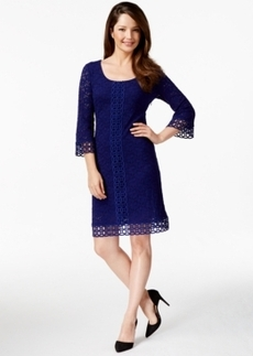 Alfani Lace Shift Dress, Only at Macy's