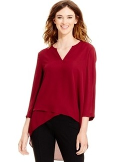 Alfani Layered High-Low Top, Only at Macy's