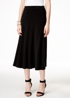 Alfani Petite Pull-On A-Line Skirt, Only at Macy's