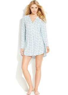 Alfani Long Sleeve Sleepshirt