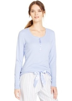 Alfani Long Sleeve Thermal Top