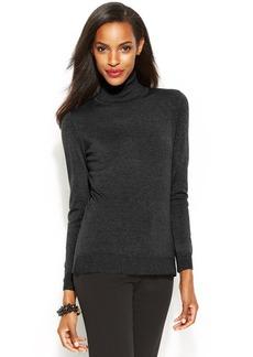 Alfani Long-Sleeve Turtleneck Sweater