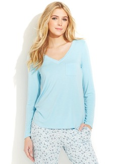 Alfani Long Sleeve V-Neck Top