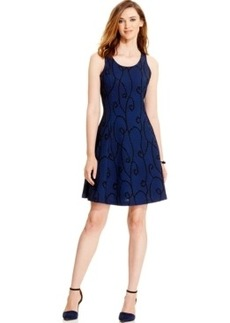 Alfani Mesh-Print Tank Dress, Only at Macy's