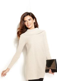 Alfani Metallic Tunic Sweater