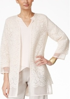 Alfani Prima Open Lace Cardigan, Only at Macy's