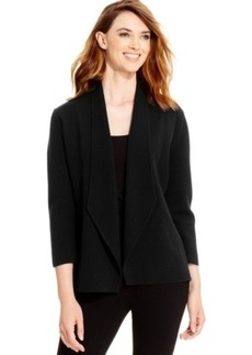 Alfani Draped Sweater-Knit Blazer, Only at Macy's