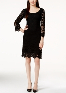 Alfani Petite Lace Shift Dress, Only at Macy's