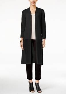 Alfani Petite Open-Front Duster Cardigan, Only at Macy's