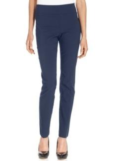 Alfani Petite Pants, Tummy-Control Skinny Pull-On