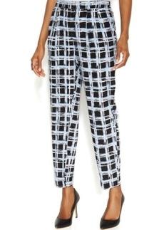 Alfani Petite Printed Soft Pants
