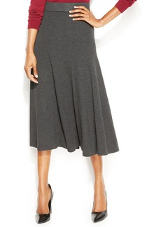 Alfani Petite Pull-On Knit Midi Skirt