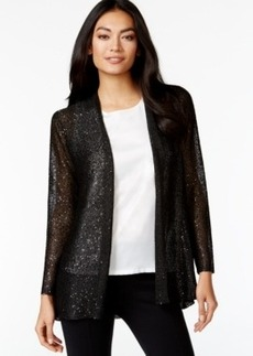 Alfani Petite Sequined Cardigan, Only at Macy's