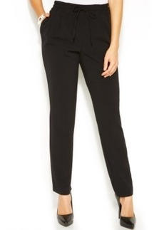 Alfani Slim-Leg Drawstring Pants