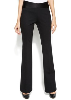 Alfani Petite Straight-Leg Pull-On Pants