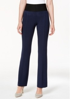 Alfani Petite Two-Button Curvy-Fit Pants, Only at Macy's