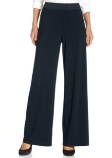 Alfani Petite Wide-Leg Pull-On Pants