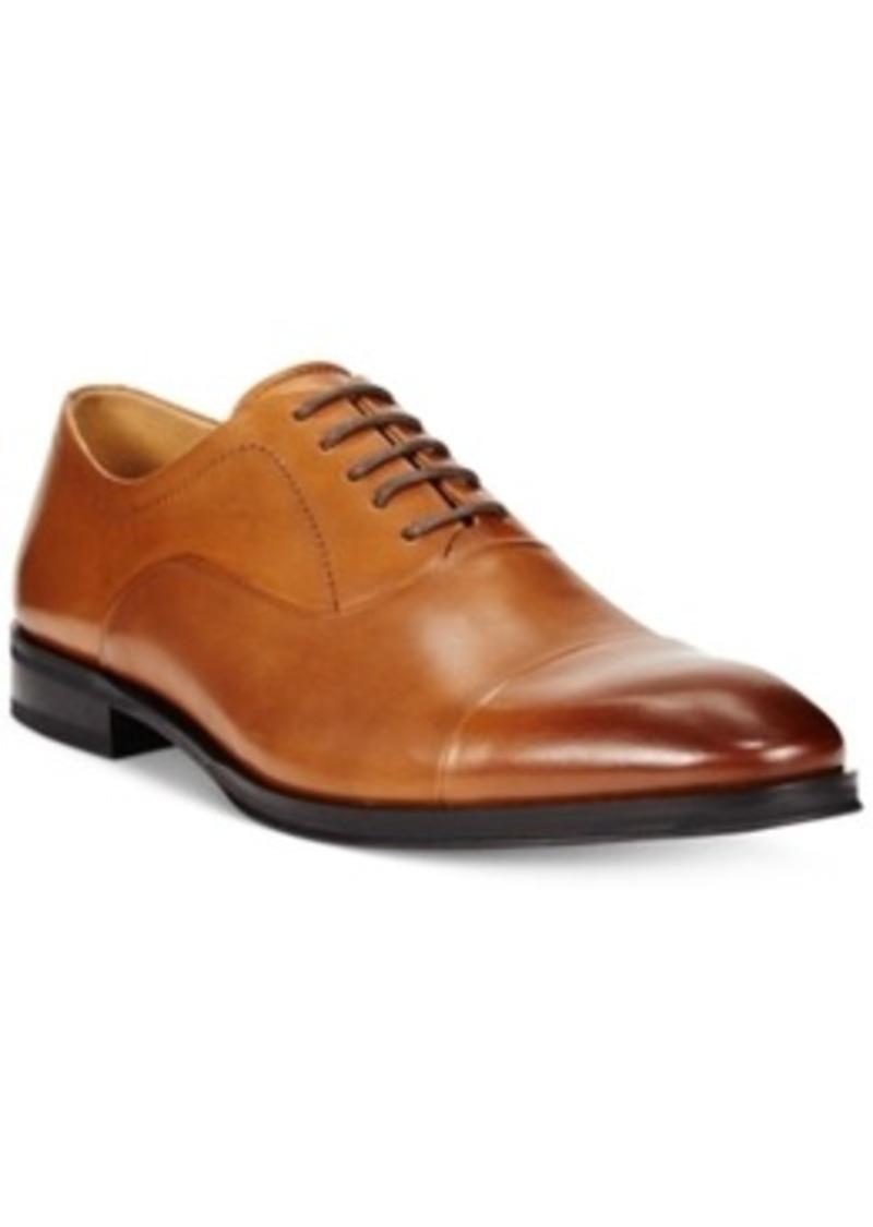 alfani alfani platinum colton cap toe oxfords s shoes