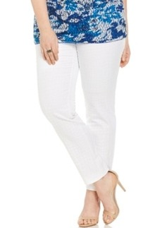 Alfani Plus Size Ankle Straight-Leg Pants