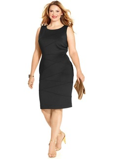 Alfani Plus Size Bandage Sheath Dress