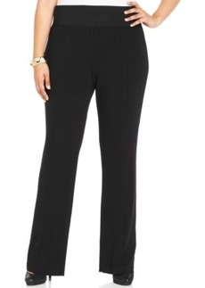 Alfani Plus Size Bootcut-Leg Pull-On Pants