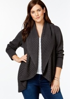 Alfani Plus Size Cocoon Cardigan Sweater, Only at Macy's