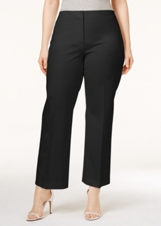 Alfani Plus Size Cropped Control Pants, Only at Macy's