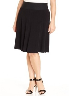 Alfani Plus Size Flared Skirt