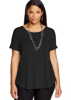 Alfani Plus Size High-Low Tee