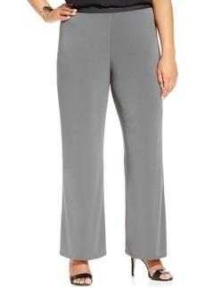 Alfani Plus Size Knit Palazzo Pants