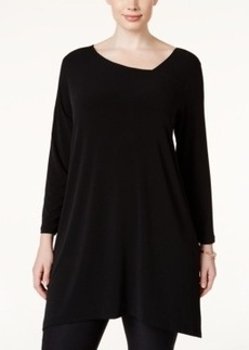 Alfani Plus Size Long Swing Top, Only at Macy's