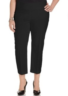 Alfani Plus Size Pull-On Capri Pants