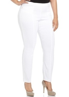 Alfani Plus Size Skinny Pull-On Pants
