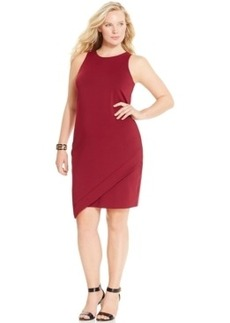 Alfani Plus Size Sleeveless Envelope Dress, Only at Macy's