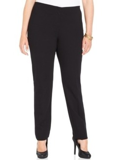 Alfani Plus Size Straight-Leg Pants