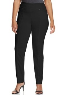 Alfani Plus Size Straight-Leg Pull-On Pants